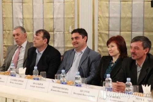 Президент Башкирии встретился с «хомячками - пустышками»