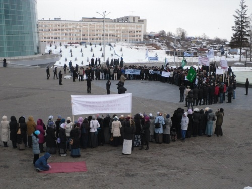 Башкирские мусульмане против произвола