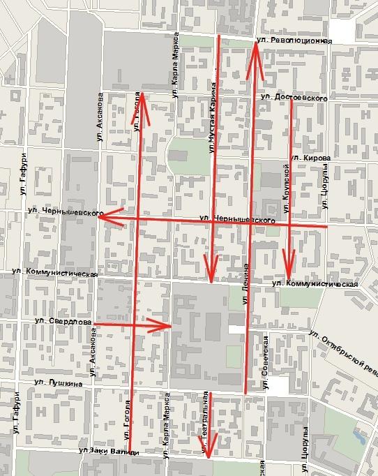 центре Уфы появятся улицы