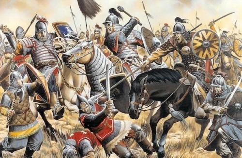 Битва на реке Калке - первая