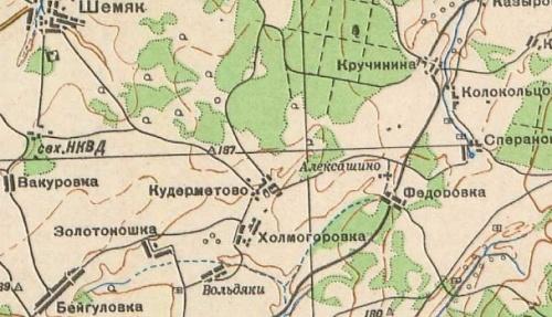 Исторические картинки. Авсень Уфимского района